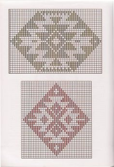 Weaving Art, Weaving Patterns, Mosaic Patterns, Couture Embroidery, Embroidery Stitches, Hand Embroidery, Fair Isle Chart, Simple Cross Stitch, Tapestry Crochet