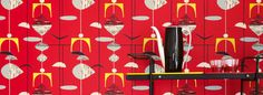 Iconic designs from the 1950s captured in a stunning range of wallpapers