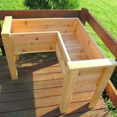 deck planter boxes elevated ft x ft cedar raised garden deck planter boxes elevated diy deck planter box plans Deck Planter Boxes, Elevated Planter Box, Deck Planters, Diy Planter Box, Garden Boxes, Vegetable Planter Boxes, Garden Ideas, Planter Box Plans, Wood Pallet Planters