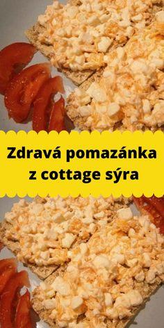 Zdravá pomazánka z cottage sýra