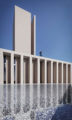 Gallery of Saffar Studio Seeks to Redefine the Iranian Mosque Typology - 10 Monumental Architecture, Mosque Architecture, Public Architecture, Ancient Greek Architecture, Sacred Architecture, Cultural Architecture, Religious Architecture, Contemporary Architecture, Architecture Details