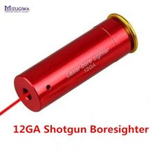 [Visit to Buy] MIZUGIWA 12 GAUGE 12 GA Cartridge Laser Bore Sighter Boresighter Red Sighting Sight Boresight Red Copper Shotgun Hunting Caza #Advertisement