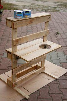 Scandinavian Home : Kuchenka ogrodowa dla dziecka - DIY