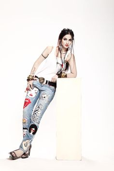 Annie Khalid for Ammar Belal Jeans