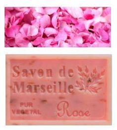 Savon de Marseille Pétales de Rose 125g