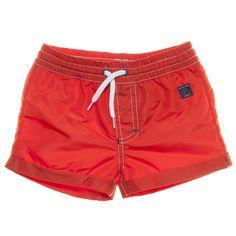 Polarn O Pyret child swim shorts - like a little lifeguard!