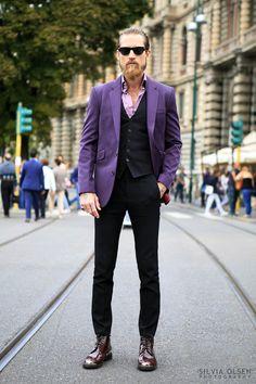 Milan Fashion Week ....Justin O'Shea