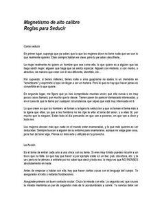 "Cover of ""Anon magnetismo de alto calibre seduccion"""
