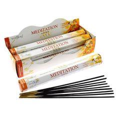 Stamford Hex Incense Sticks - Meditation (120)