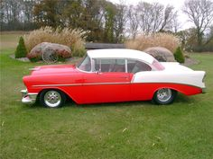 1956 CHEVROLET 210 CUSTOM 2 DOOR HARDTOP - 138408