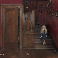 Fille aînée d'une famille de neuf enfants, Julie Blackmon a vécu dans une atmosphère domestique bouillonnante, influence évidente dans son œuvre en continuelle expansion. Ses photographies rappellent les tableaux de Jan Steen, peintre du siècle d'or néerlandais, dont les scènes familières colorées et tumultueuses sont devenues proverbiales aux Pays-Bas. Douée d'une maîtrise technique indéniable, Julie Blackmon s'en inspire délibérément et les modernise, avec un mélange de spontanéité et de…