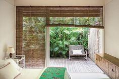 idees deco stores bambou pour fenêtres