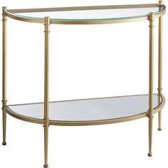 Clara Console Table - Gold
