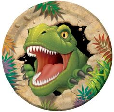 Pack of 8 Dino Blast Paper Party Plates Ideal party tableware - Dinosaur Party Supplies Dinosaur Wedding, Dinosaur Birthday Party, Birthday Lunch, Balloon Birthday, Baby Birthday, Birthday Wishes, Birthday Parties, Party Plates, Party Tableware