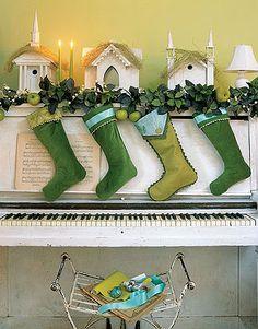 Beautifully decorated piano