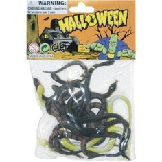 Bag Of Snakes Halloween Decoration