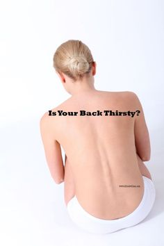 Back Pain and Hydration – Is Your Back Thirsty?