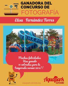 Ganadora del #concurso de #fotografía Aquapark Cerceda