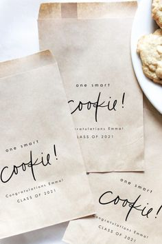Everyone loves a cookie, so how about sending your guests home with one in this fantastic 'one smart cookie' paper bag? See more party supplies and add yours at CatchMyParty.com Cookie Party Favors, Boy Party Favors, Party Favor Bags, Baby Shower Favors, Diy Party Supplies, Graduation Party Supplies, Girl Birthday, Birthday Parties, One Smart Cookie