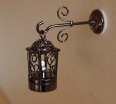 MINIATURE DOLLHOUSE 1:12 SCALE-BATTERY OPERATED DELANCEY STREET CAFE LIGHT-C37-S