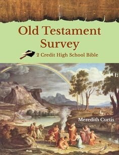 Old Testament Survey E-book by Meredith Curtis. 1 Credit Bible High School Class.