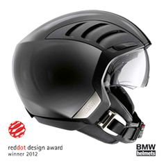 Winner of the Red Dot design award, the AirFlow 2 Helmet lives up to its name in terms of aerodynamics and optimum ventilation. The urban helmet features air-flow openings and ducts that can be shut or open when necessary, keeping the riders head coo Bmw Helmet, Shark Motorcycle Helmets, Buy Motorcycle, Scrambler Motorcycle, Bicycle Helmet, Motorcycle Party, Motorcycle Memes, Biker Helmets, Classic Motorcycle