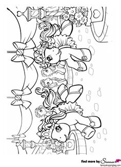 Animals in the Noah's Ark. Precious Moments coloring page