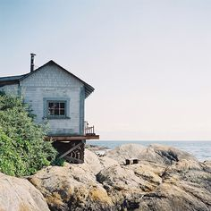 Old beach house, near Gonzales Beach, Victoria