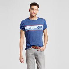 Men's San Francisco City Stripe T-Shirt Xxl - Navy, Blue