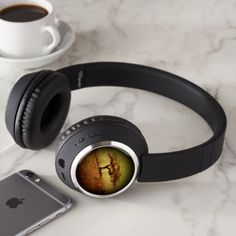 Rustic Tree Headphones - rustic gifts ideas customize personalize