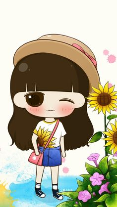 Image uploaded by 𝐆𝐄𝐘𝐀 𝐒𝐇𝐕𝐄𝐂𝐎𝐕𝐀 👣. Find images and videos about girl, cute and beautiful on We Heart It - the app to get lost in what you love. Cartoon Photo, Cute Cartoon Girl, Couple Cartoon, Cute Girl Wallpaper, Couple Wallpaper, We Heart It, Rain Illustration, Unicorn Drawing, Chibi Girl