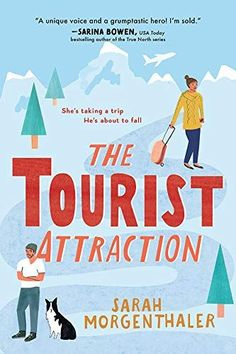 The Tourist Attraction is a romance book that inspires travel for the armchair tourist. Check out the entire book list of romance books that inspire travel. Casablanca, New Books, Good Books, Alaska Book, Parks, Kindle, Spring Books, Novels To Read, Journey
