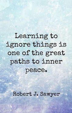 Inner peace path.