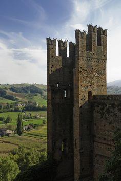 Palazzo del Podestà, Castell'Arquato -Provincia di Piacenza, Italy - Castles of the Duchy of Parma and Piacenza