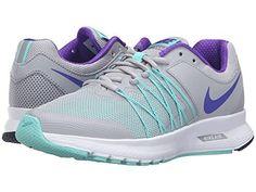 834a4d86832b2 Nike Womens Air Relentless 6 Wolf Grey Fierce Purple-Hyper Turq-White Running  Shoes (11)