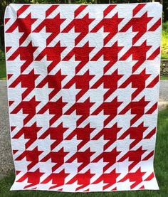 Houndstooth Quilt and Pattern!
