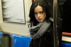 Jessica Jones (imagen de la primera temporada de Jessica Jones)