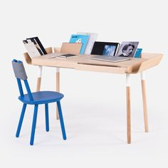My writing desk with 2 drawers by Emko.    A writing desk, designed for the working people. For the creative people. People who know the value of efficient work.