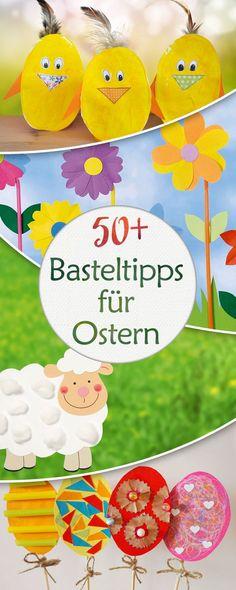 Basteln für Ostern? Wir haben da ein paar Ideen.