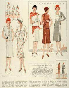 1928 Print McCalls Women Children Flapper Fashion Dressmaking Patterns Frocks   eBay