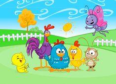 desenhos para colorir e imprimir da turma da galinha pintadinha - Pesquisa Google