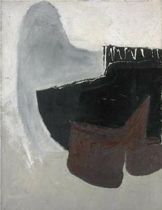 roger hilton - march 56 (1956)