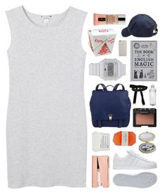 """""""lights will guide you home."""" by other-flying ❤ liked on Polyvore featuring Monki, adidas, Proenza Schouler, Scotch Shrunk, NARS Cosmetics, Clinique, Tom Dixon, Davines, Cybele and CO"""