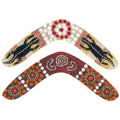 Learn about different Indigenous painting techniques with this fun Cardboard Boomerang idea - CleverPatch NAIDOC Week