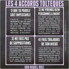 Les 4 accords toltheques de Don Miguel Ruiz