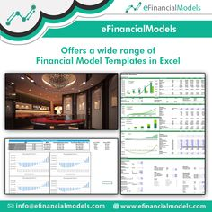 eFinancialModels offers a wide range of industry specific excel financial models, projections and forecasting model templates from expert financial modeling freelancers. Financial Modeling, Career Help, Free Education, Data Science, Growing Your Business, Ecommerce, Accounting, Finance, Tech