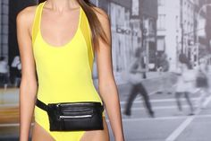 The return of the fanny pack, at DKNY