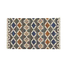 Agra Blue Rug  to be placed by couch and chairs