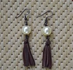 Pearl with Fringe Tassel from Forever Yours
