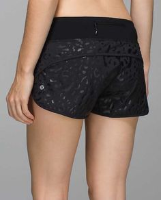 Run: Speed Short*SE BLK/BLK 6